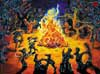 Fire Dance | Oil on canvas| SOLD | 2004 | Available as postcard