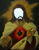 Jesus | Acrylics on canvas, mirror | 40cm x 50cm | 2005